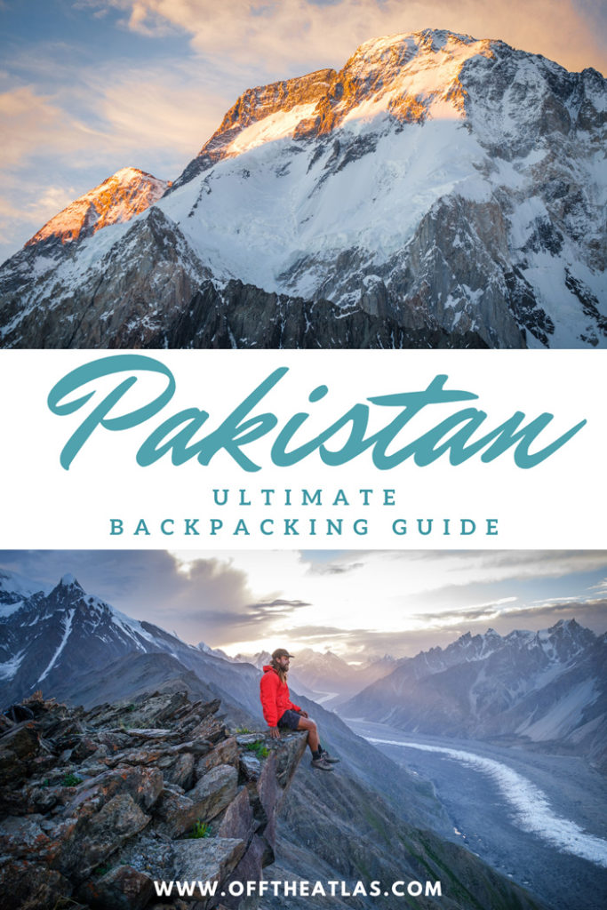 Backpacking guide in Pakistan