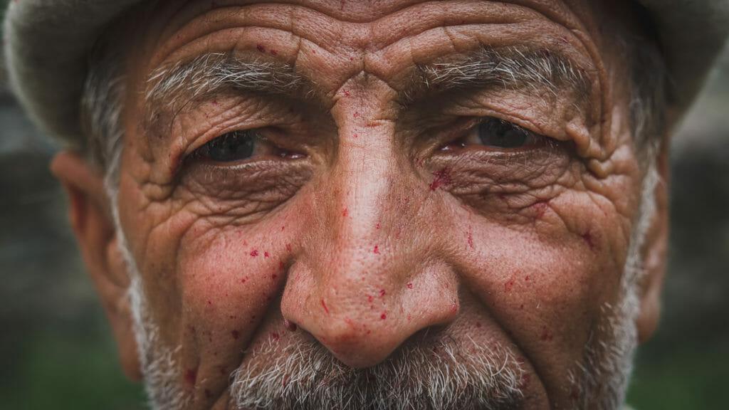 Old Man in Charakusa Valley, Pakistan