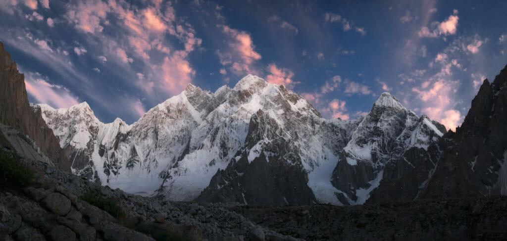 Sunset in Charakusa Valley Pakistan