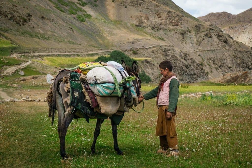 horse trekking in Pakistan