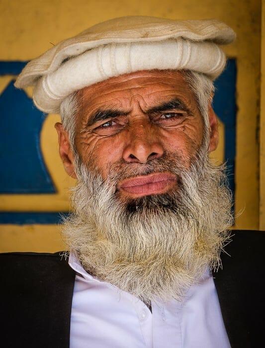 Old man in KPK