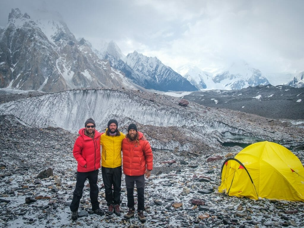 concorida k2 base camp trek