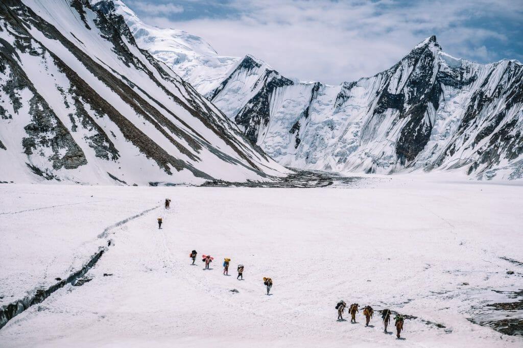 Ali camp k2 base camp trek