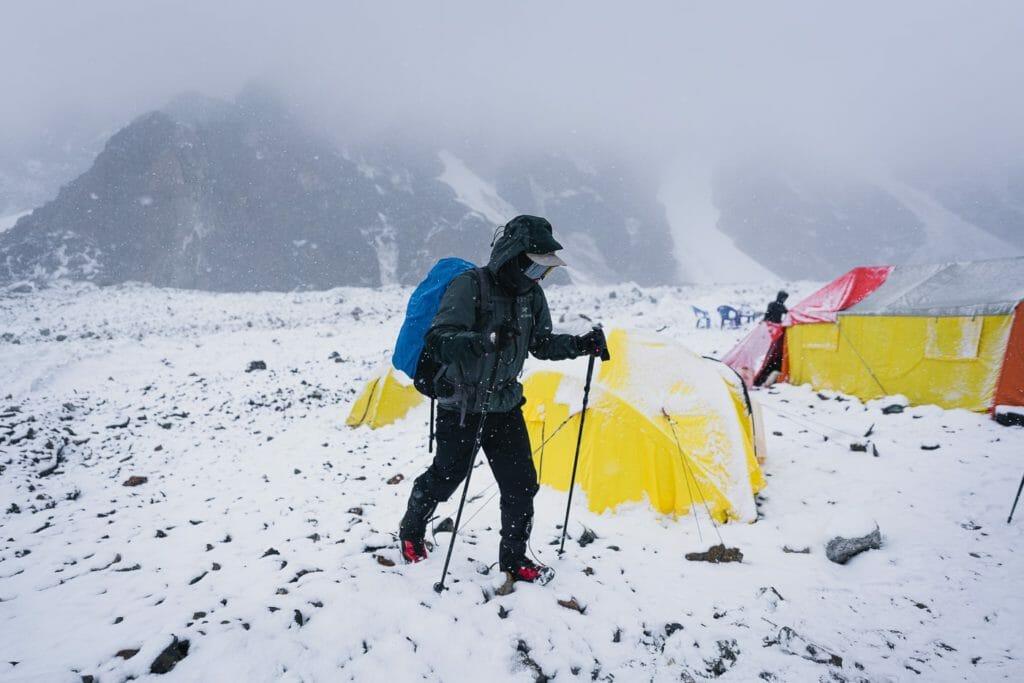 trekking to k2 base camp
