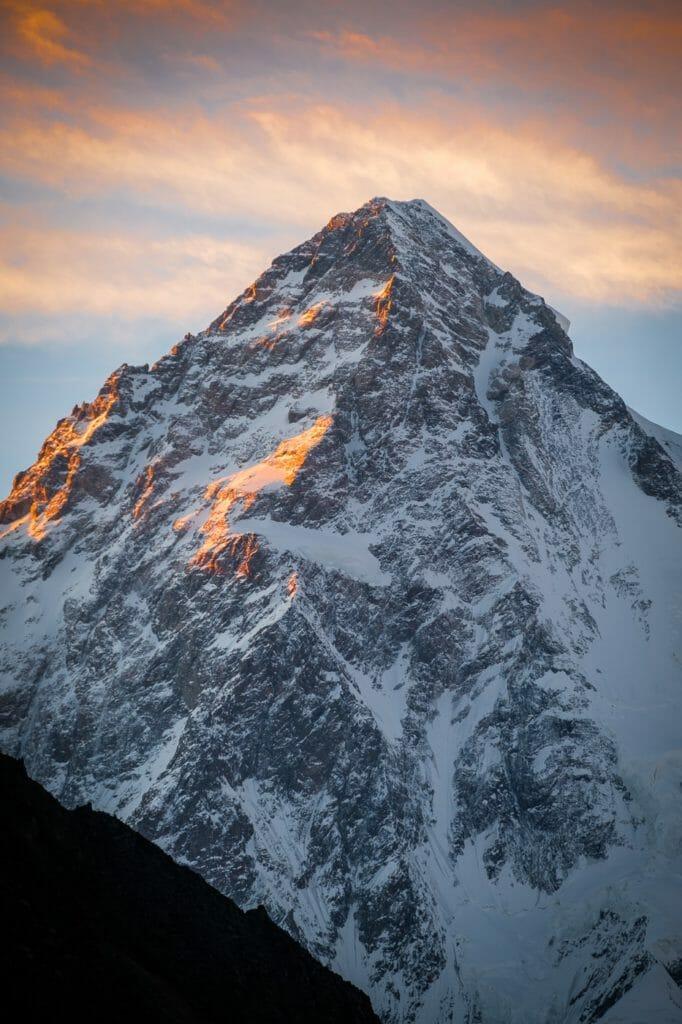 k2 peak sunset