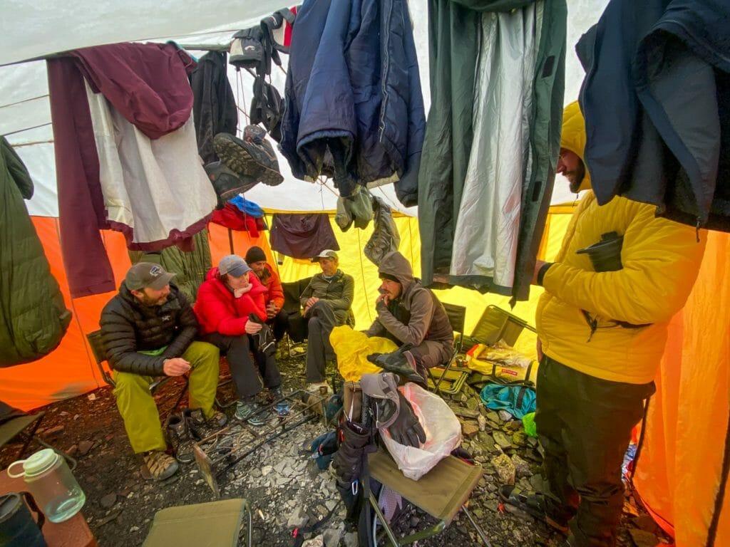 camping at concordia pakistan