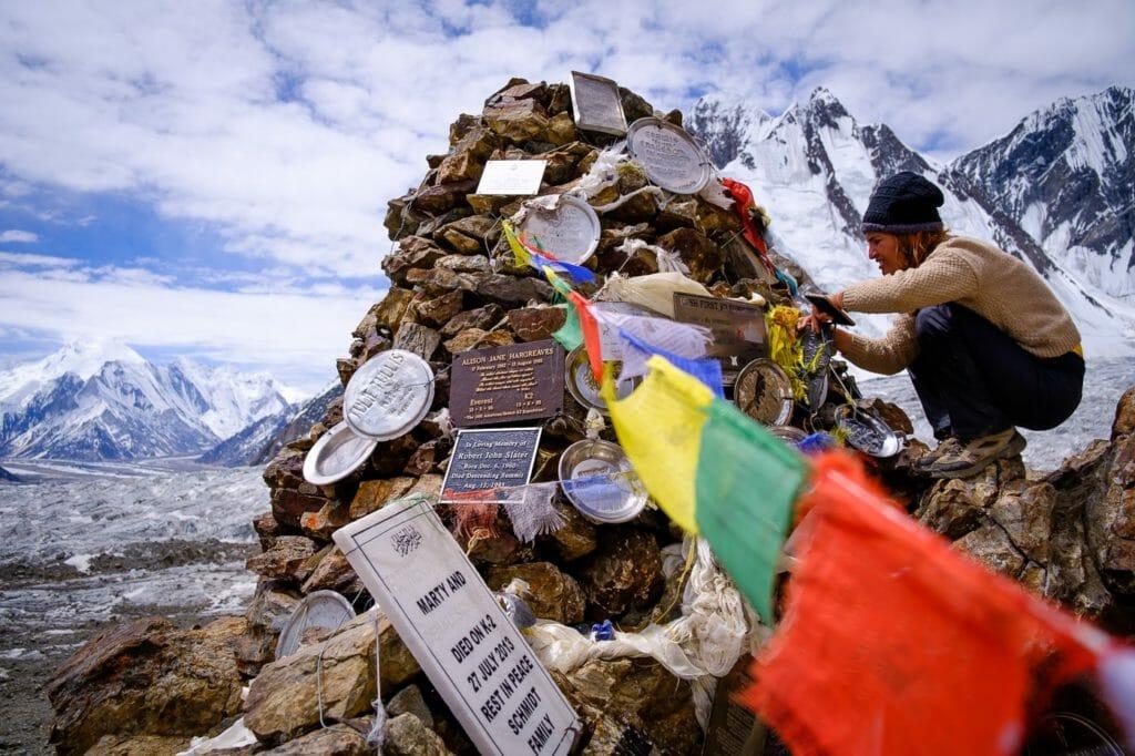 K2 base camp memorial