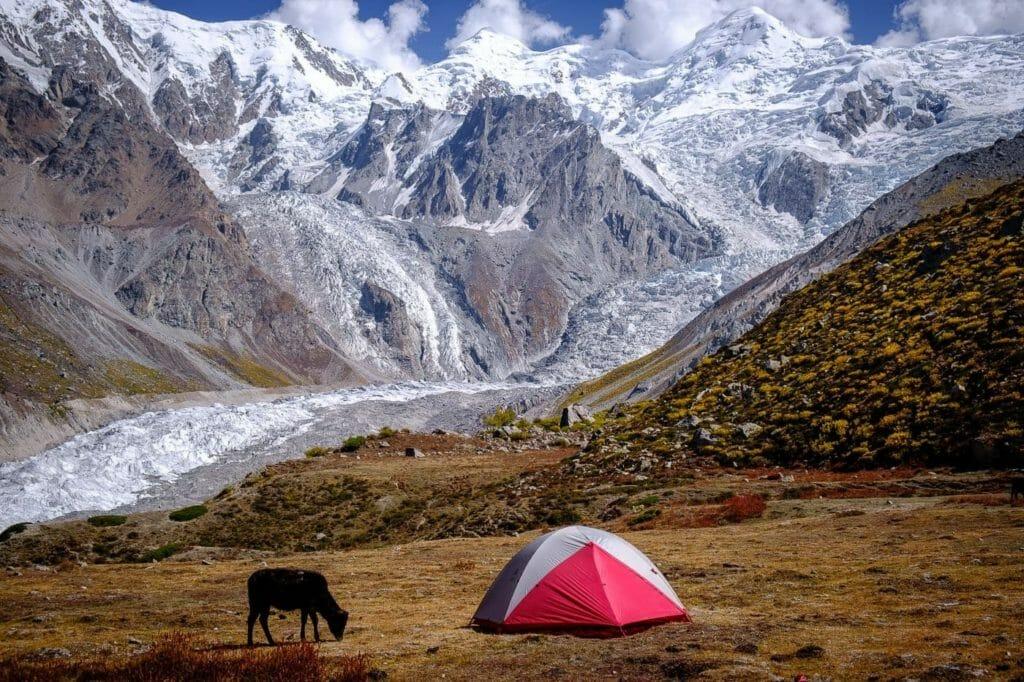 nanga parbat base camp camping