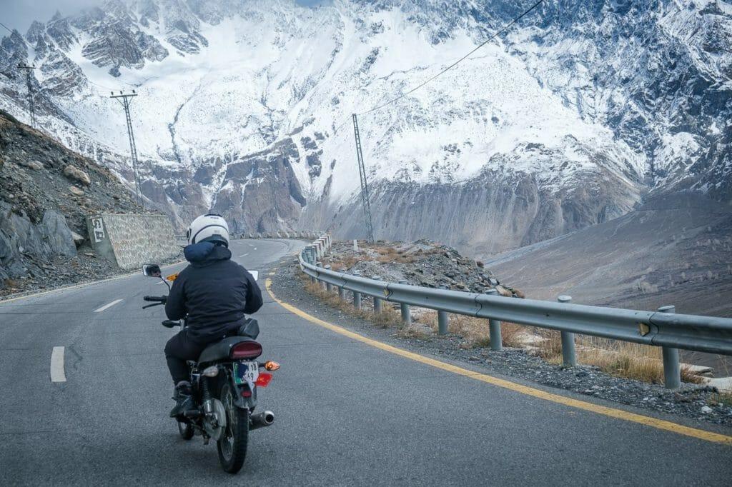 driving the Karakoram highway