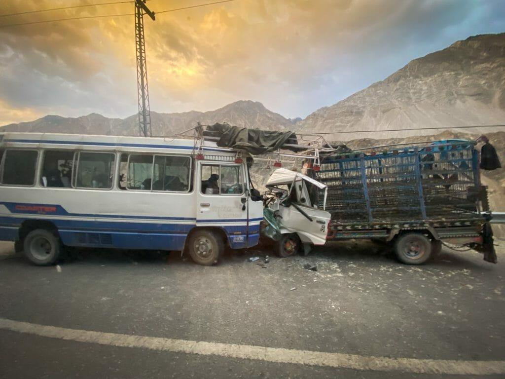 car crash in Pakistan